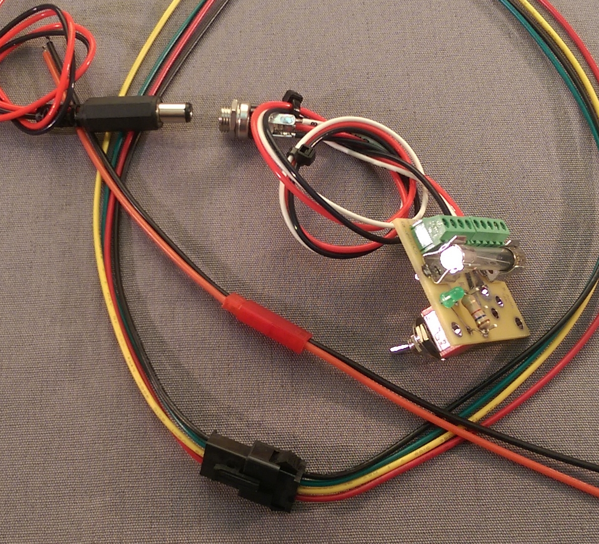 Sensational Bcm F Tender Charging Kit Wiring Cloud Oideiuggs Outletorg